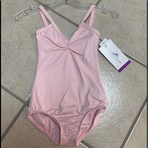 Child's 6X-7 Pink Lined Camisole Leotard NWT